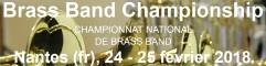 2017-10-14 Brass Band Championship 2018 in Nantes - hacer clic aquí